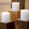 Candleholder LUNA Dark Decorated