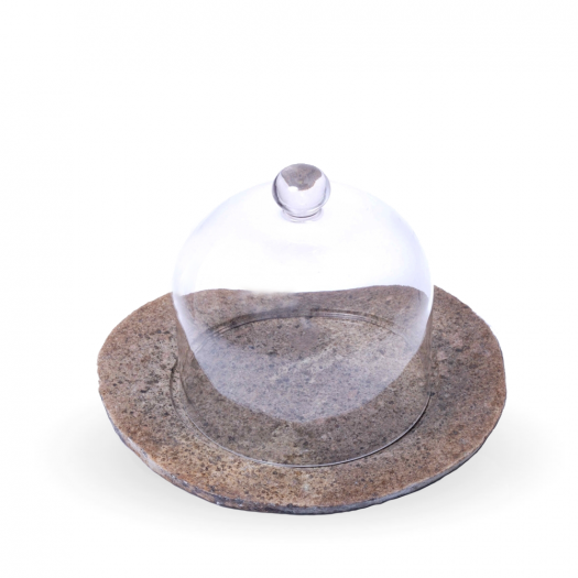 Cheese plates RIVA Dome-stone