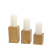 Candleholder LUNA Light Plain