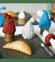 Egg cozy WARM-UP turquoise