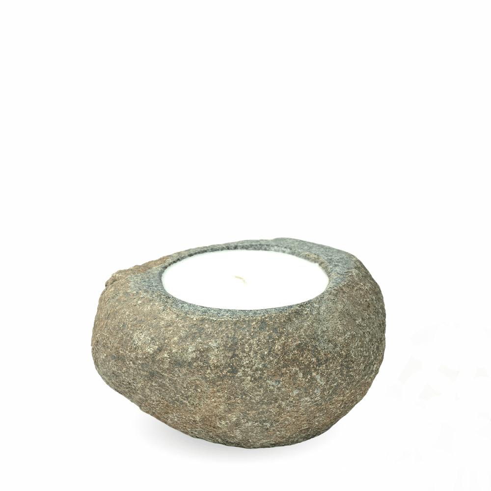 Stone candle LUMO Plain