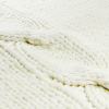 Knitted blanket FLUF braid Zoom