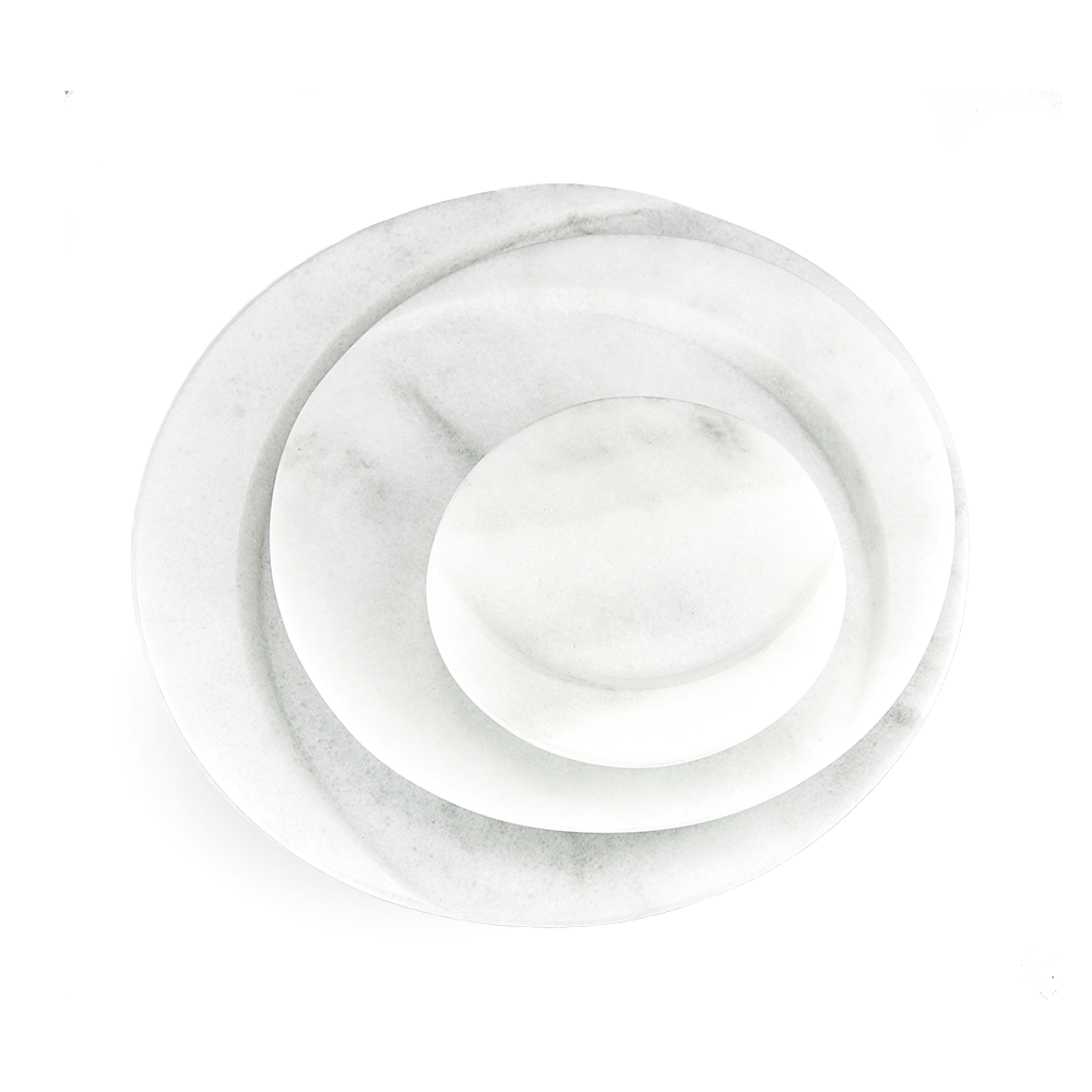 Marble Plate GOURMET | white