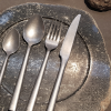Cutlery  LUXXO silver Decorated