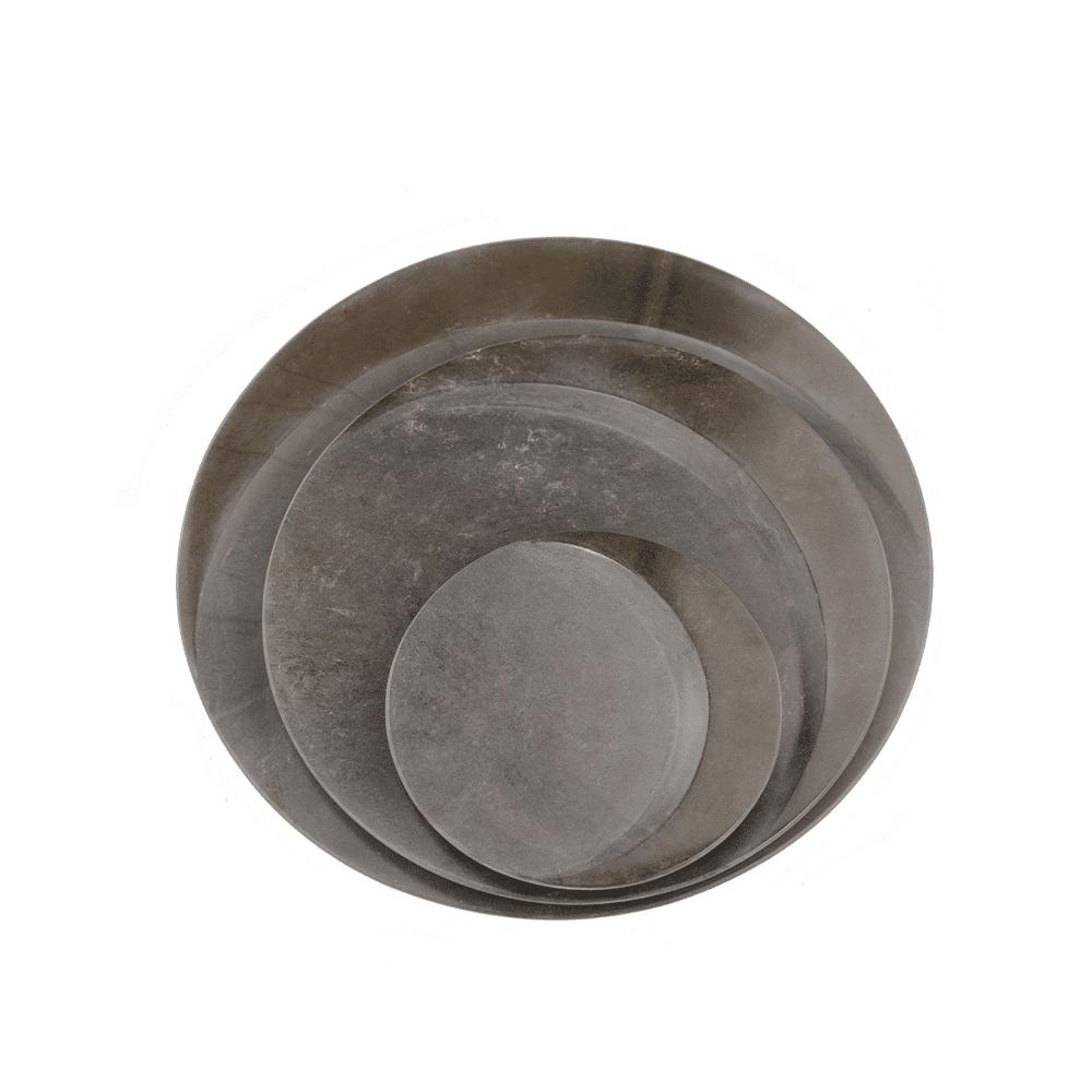 Marble Plates GOURMET ebano