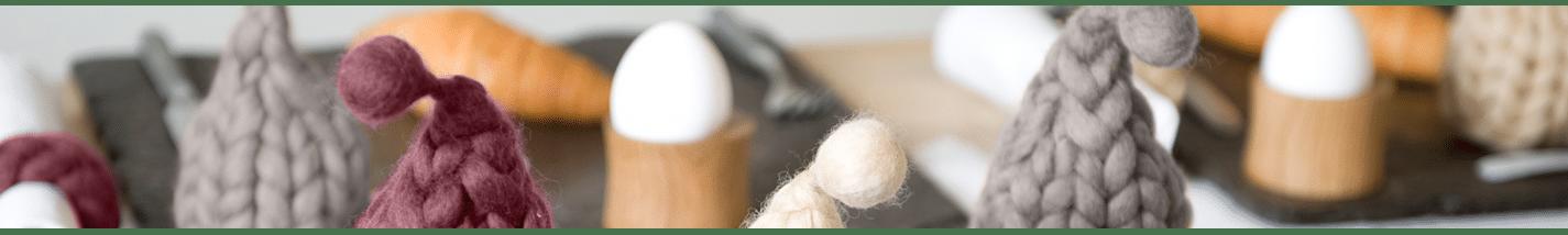 EIERWÄRMER | Cozy Tischdekoration zu jedem Frühstückstisch | uccellino